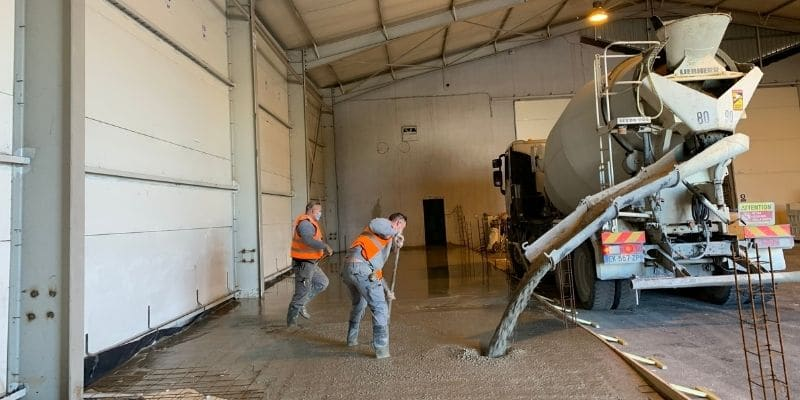 RFR aux côtés de Cermix pour l'aménagement d'un hangar en Cermix Académie au Pontet (84).