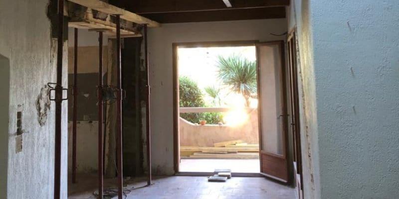 Rénovation d'une villa à Six-fours-les-plages (83).